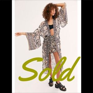 Spell & The Gypsy Collective Intimates & Sleepwear - Spell & The Gypsy Free People Kimono